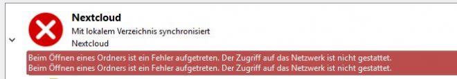 nextcloud-fehler-zugriff-netzwerk-nicht-gestattet-1